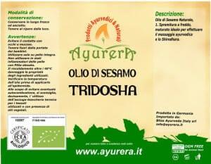 Olio Di Sesamo Naturale – Tridosha per massaggio ayurvedico