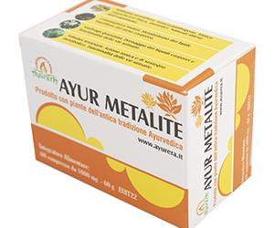 Ayur Metalite – Supporto naturale per il sostegno del metabolismo.