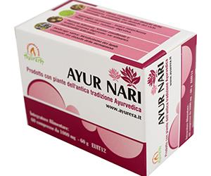 Ayur Nari – Supporto naturale per il fisiologico benessere della donna.