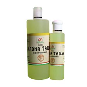 Radha Taila – Olio anticellulite per massaggi.