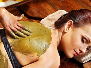 massaggio con polveri